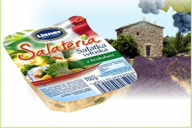 Lisner promuje markę Salateria w internecie