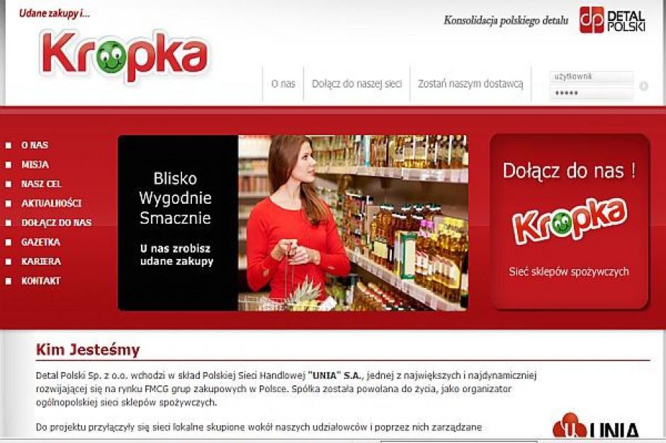 Detal Polski uruchomił stronę sieci Kropka i przyłącza sklepy