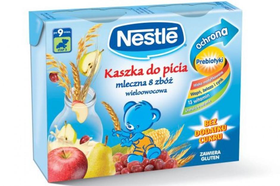 Nowe kaszki do picia Nestle