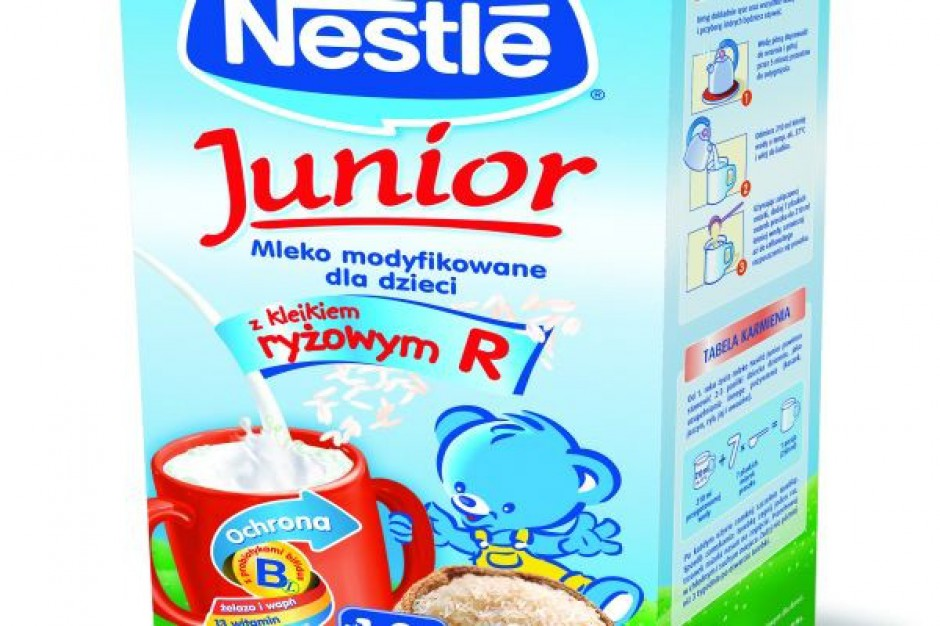 Nowe mleka Nestlé Junior