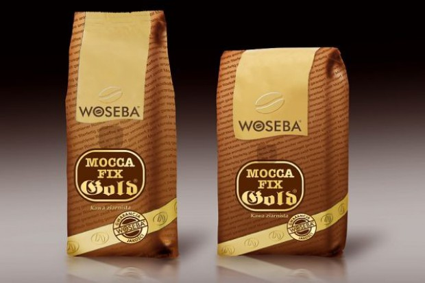 Nowa kawa ziarnista Woseba Mocca Fix Gold