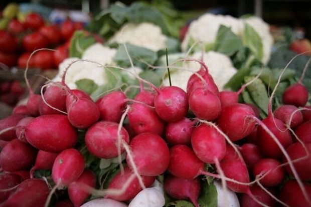 Ceny młodych warzyw poszły w górę