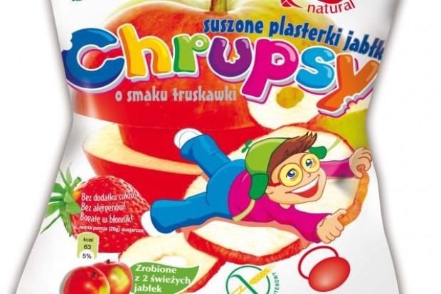 Chrupsy - Jabłko o smaku truskawki