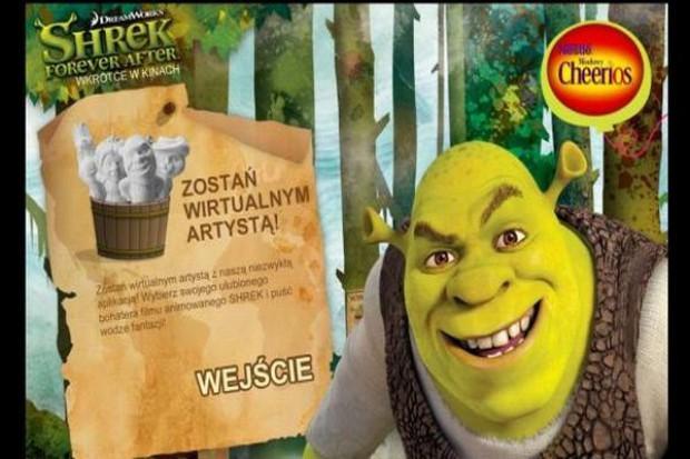 Shrek bohaterem kampanii Nestle