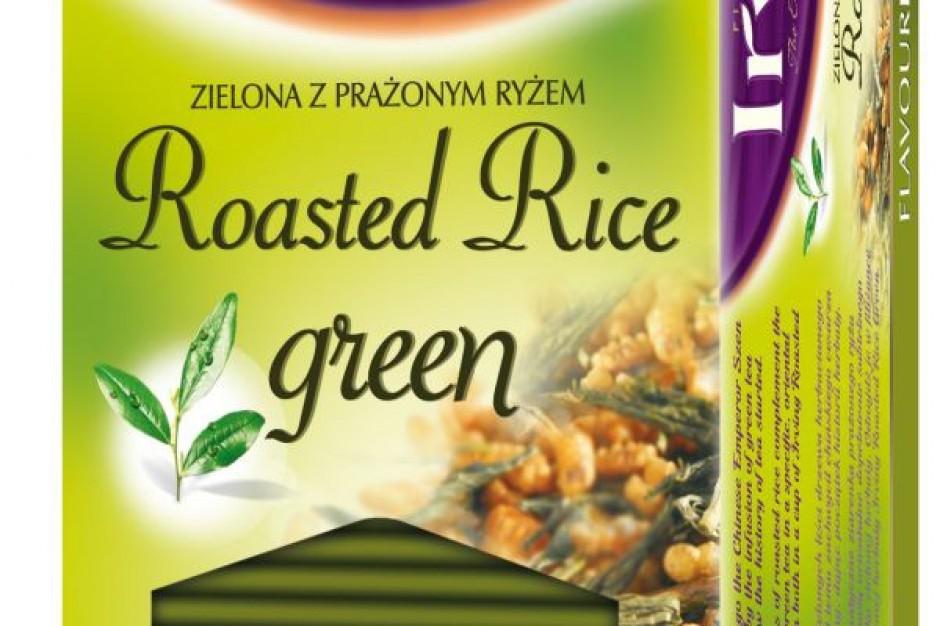 Zielona herbata z prażonym ryżem w saszetkach od Irving