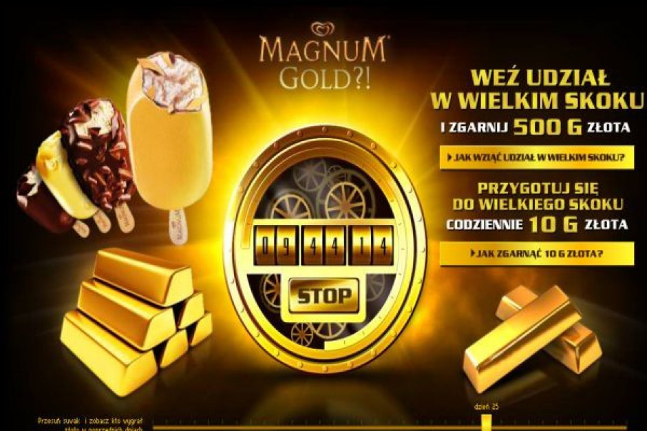 Magnum Gold promowane w kinach