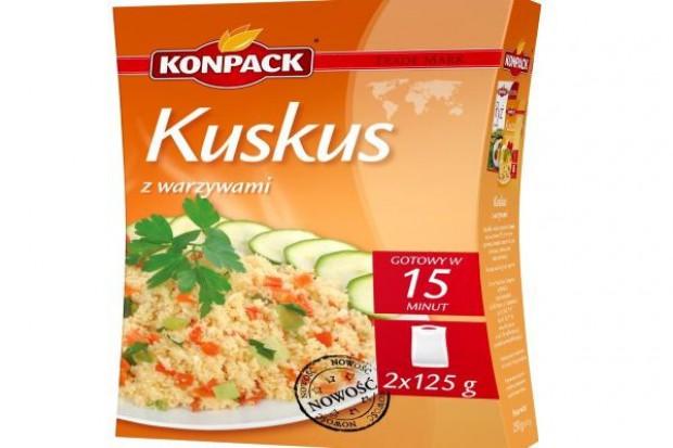 Kuskus z warzywami Fit`s firmy Konpack