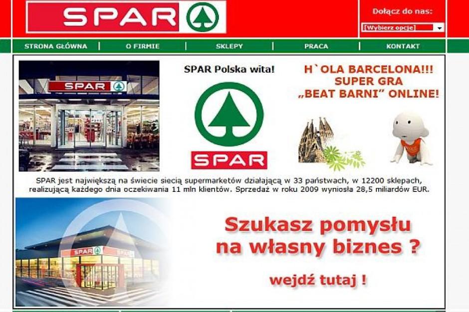 SPAR chce otwierać markety w kolejnych województwach