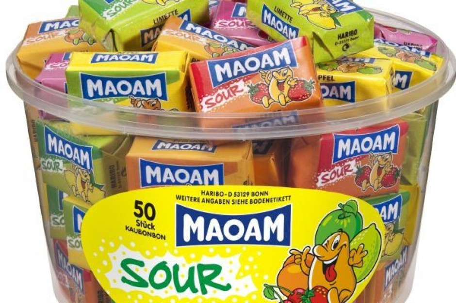 Nowe superkwaśne gumy Maoam Sour