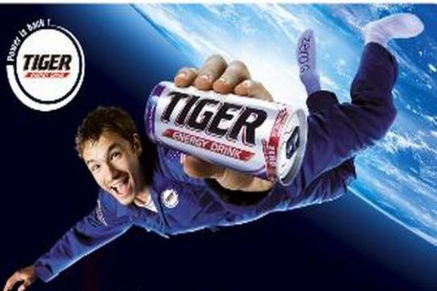 Tiger Energy Drink zabierze w kosmos