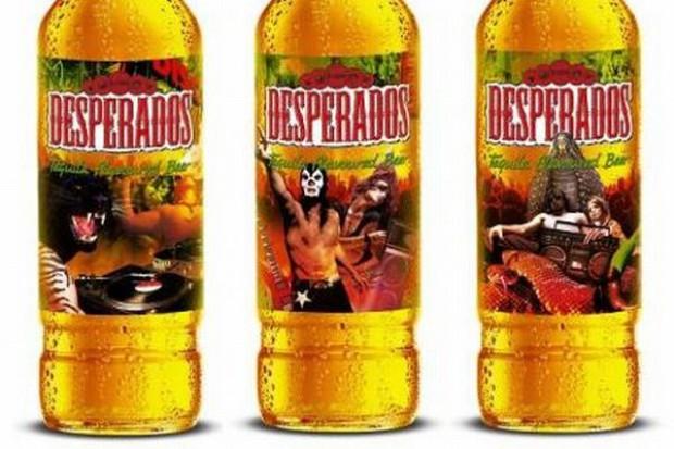 Desperados z nowymi etykietami
