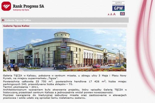 Erbud zbuduje w Kaliszu galerię za 65 mln zł