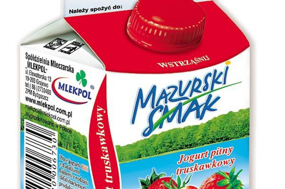 Nowe jogurty Mazurski Smak BIFI