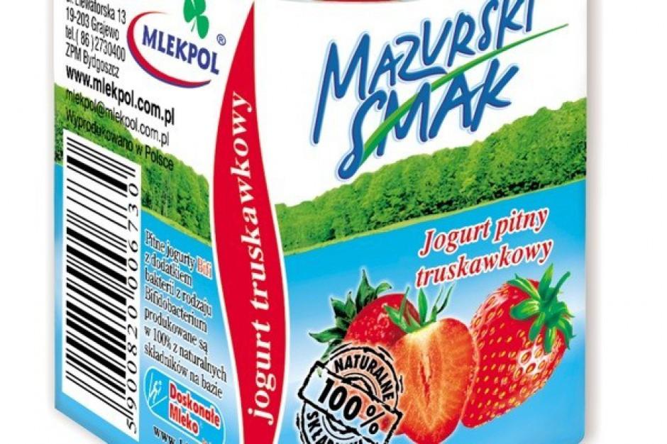 Nowe jogurty funkcjonalne od Mlekpolu
