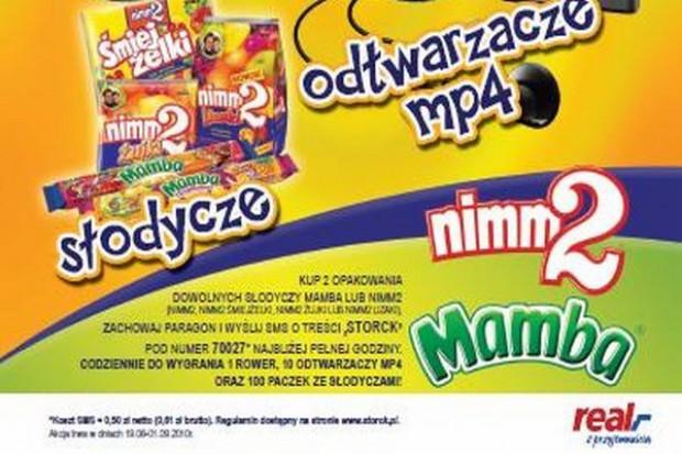 W sieci Real trwa promocja cukierków Nimm2 i Mamba