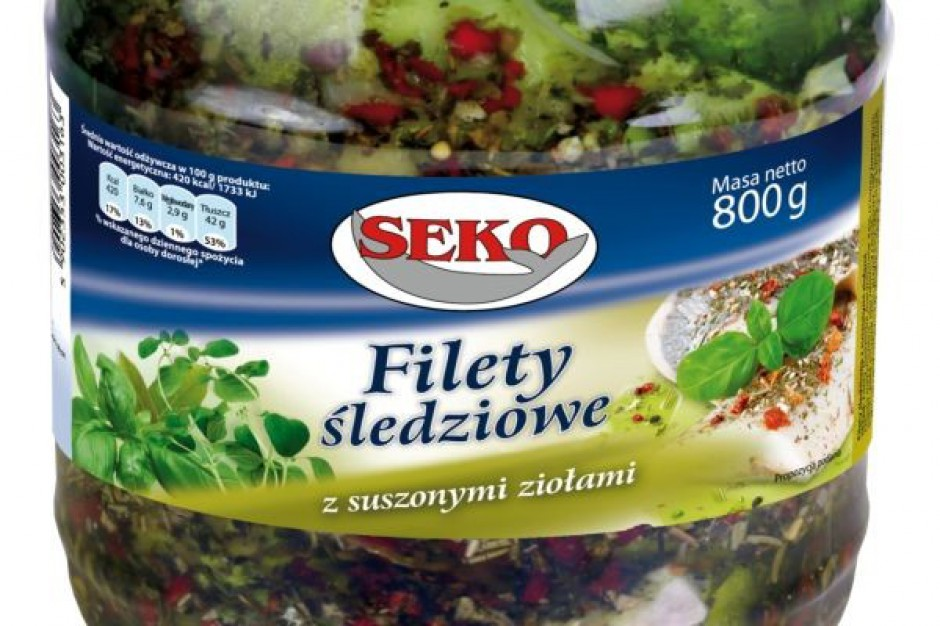 Filety śledziowe z ziołami od Seko