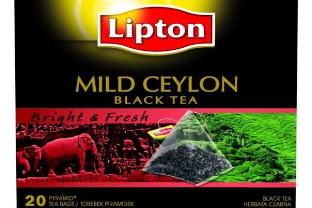 Nowa linia czarnych herbat Lipton