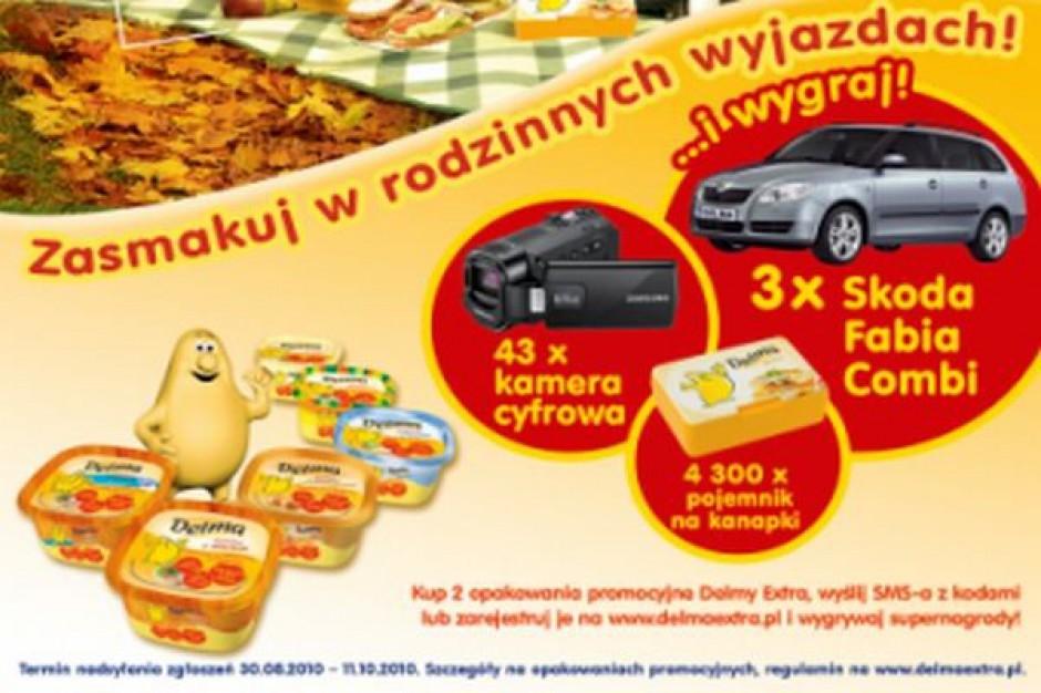 Promocja konsumencka margaryny Delma Extra