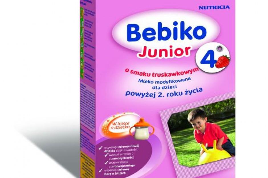 Bebiko Junior 4 o smaku truskawkowym