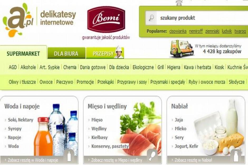 A.pl operatorem sklepu internetowego Bomi w Warszawie