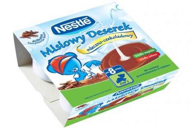 Misiowe deserki od Nestle