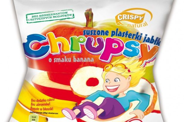 Nowe Chrupsy od Crispy Natural