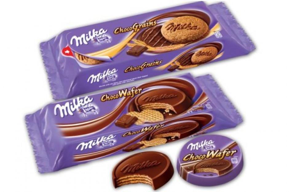 Milka wprowadza ciasteczka czekoladowe