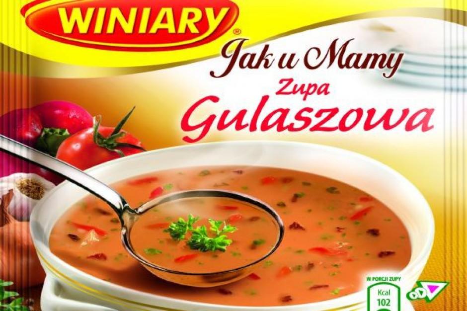 Nowe smaki w linii zup Winiary