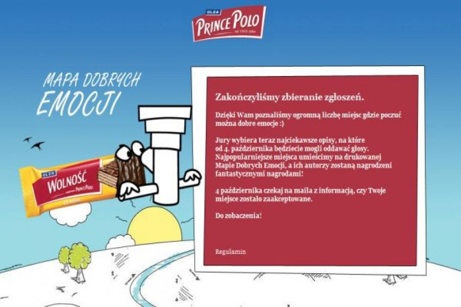 Promocja konsumencka marki Prince Polo