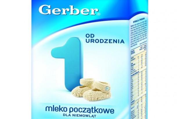 Nowe mleko modyfikowane Gerber