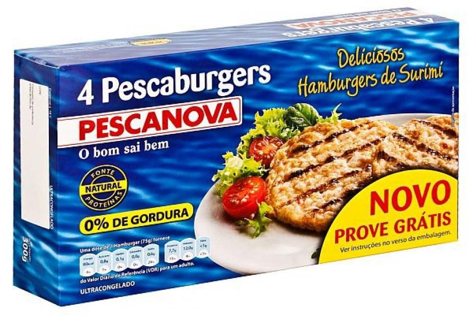 PESCAburgery surimi w ofercie PESCANOVA
