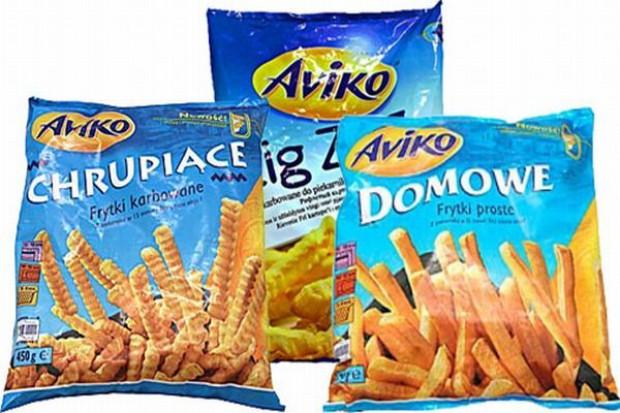 Frytki Aviko promowane w mediach