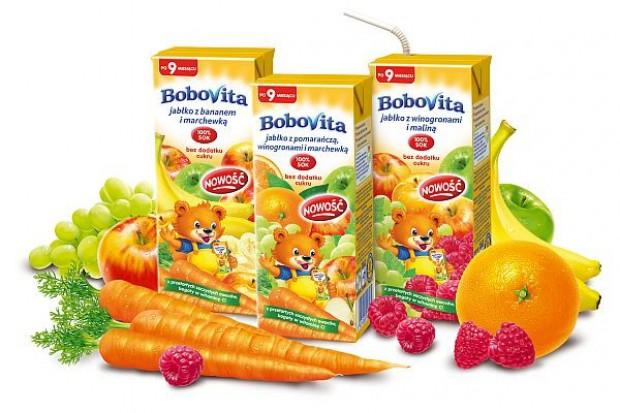 Trzy nowe smaki soczków BoboVita w kartoniku ze słomką