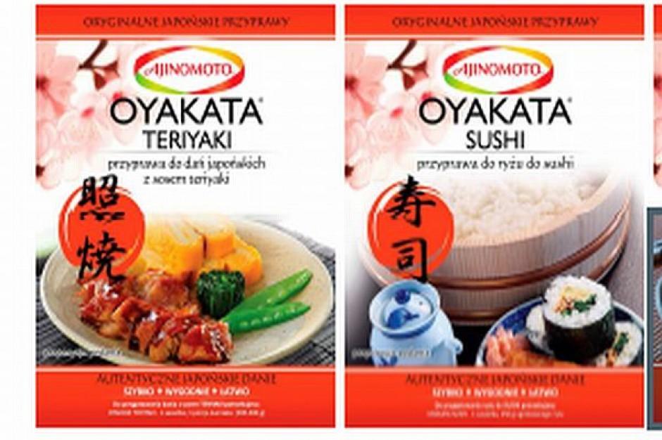 Przyprawy do sushi od Ajinomoto