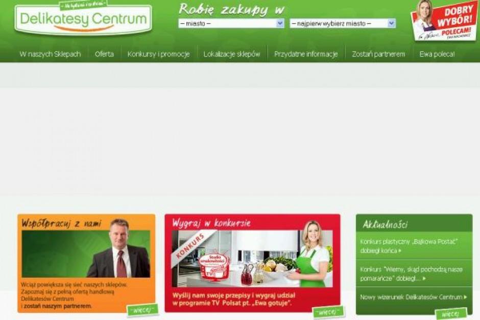 Delikatesy Centrum: w 2009 roku obroty z mkw. wyniosły 27,2 tys. zł