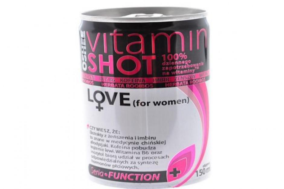Nowa kampania Oshee Vitamin Shot