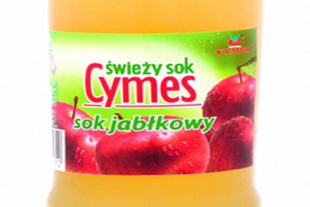 Świeży sok jabłkowy Cymes