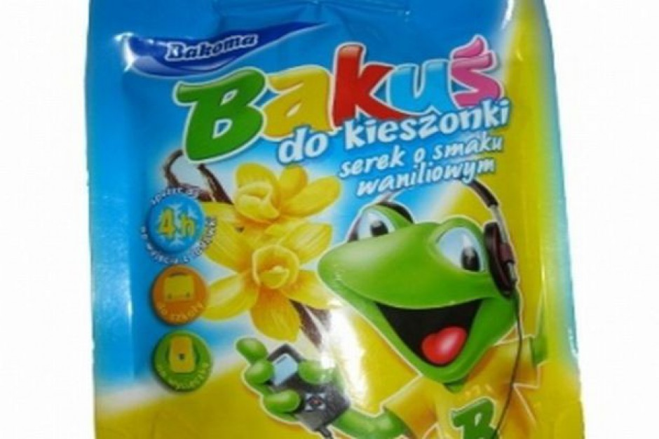 Kampania reklamowa nowego serka Bakuś