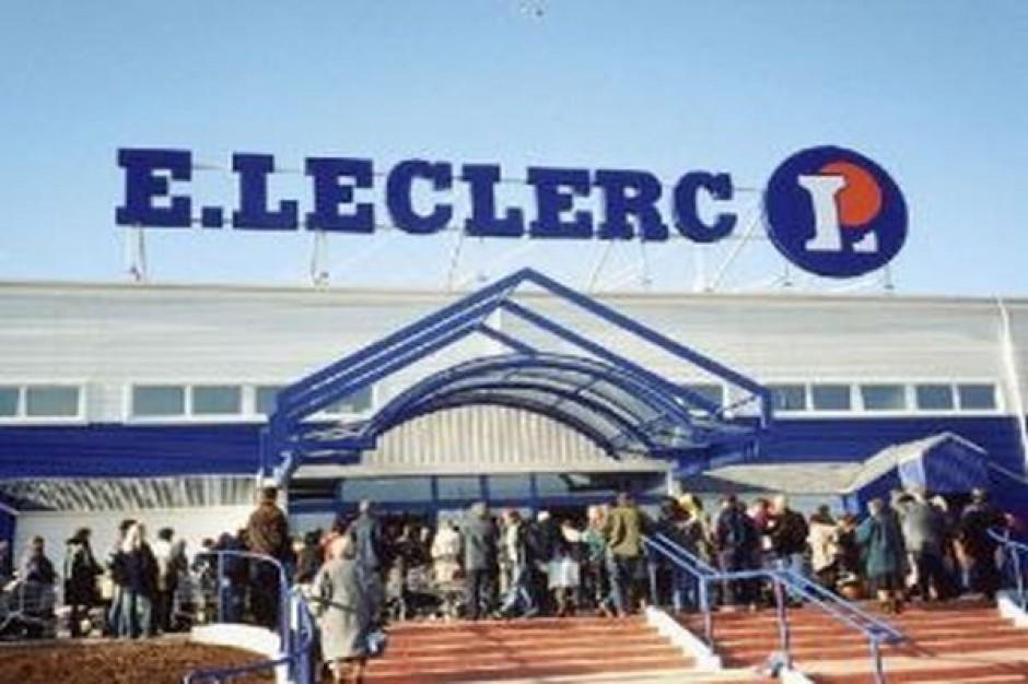 E. Leclerc będzie tańszy niż Auchan, sieć chce zrealizować cel w ciągu 2-3 lat