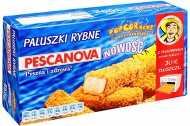Popcornowe paluszki rybne Pescanova