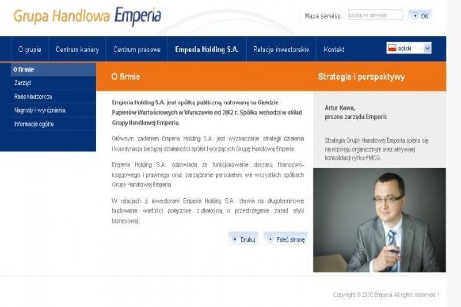 Rzecznik Eurocash zaskarżył uchwałę NWZA Emperii o skupie akcji własnych