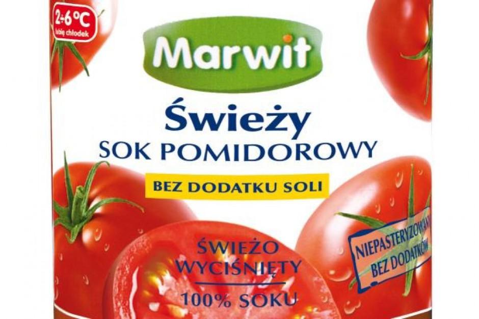 Marwit wprowadza świeży sok pomidorowy