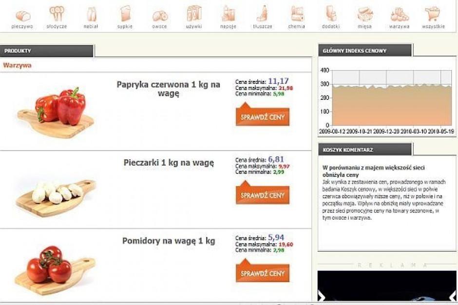 Porównanie cen dlahandlu.pl: podwyżki w supermarketach, Polomarket cenowo bliżej Stokrotki