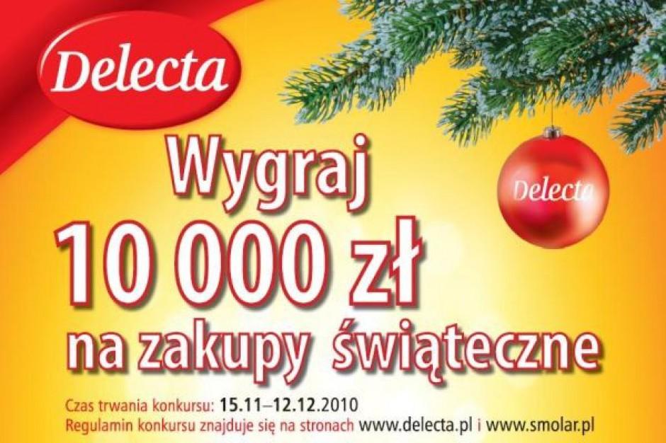 10 tys. zł na zakupy świąteczne od Delecty