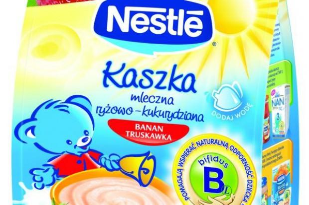 Nowe kaszki od Nestle