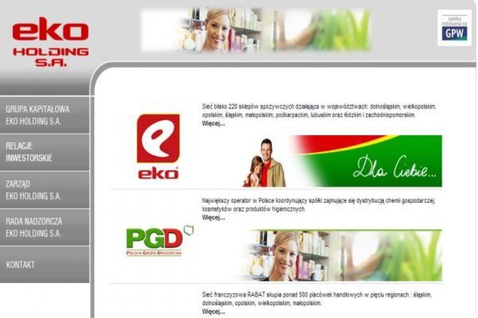 Eko Holding przejął sieć sklepów o miesięcznych obrotach 2,7 mln zł