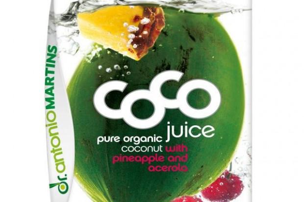 Kokosowy mix - nowy napój marki dr Antonio Martins