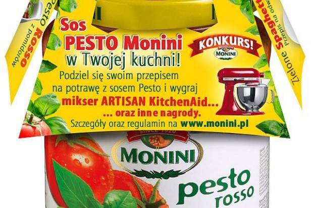 Monini wspiera sprzedaż sosów pesto konkursem