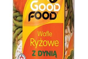 Wafle z dynią od Good Food