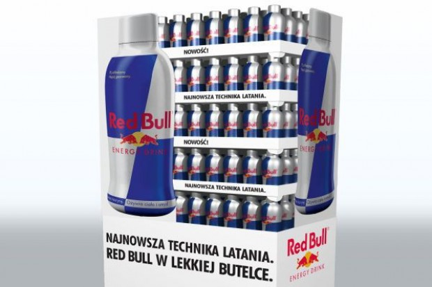 Nowa wersja opakowania Red Bulla